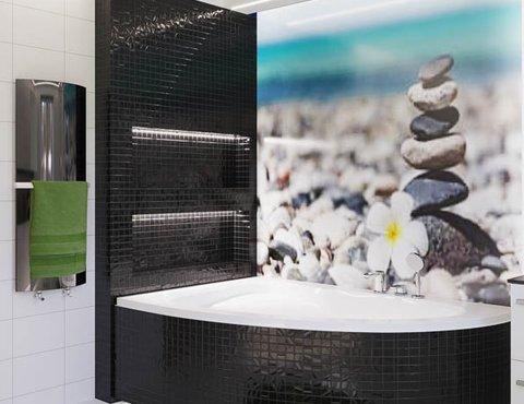 Дизайн интерьера ванной комнаты в г. Каменск-Уральский
