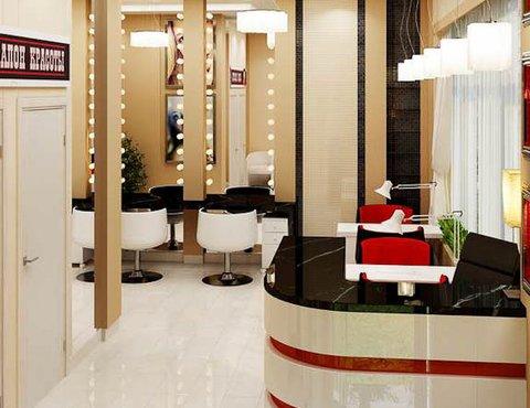 Дизайн интерьера парикмахерской по ул. Рябинина 19